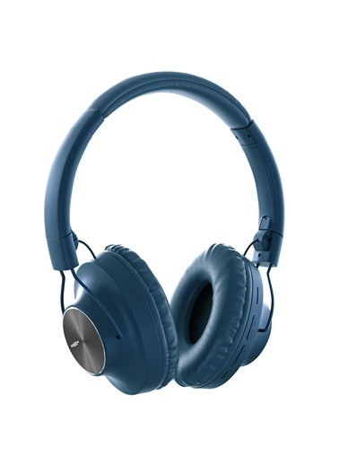 MF Product MF Product Acoustic 0129 Mikrofonlu Kulak Üstü Kablosuz tooth Kulaklık Mavi